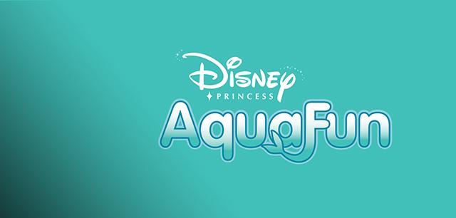 Disney's Little Mermaid Aquafun Brand Identity Design by Laban Brown Design Essex London