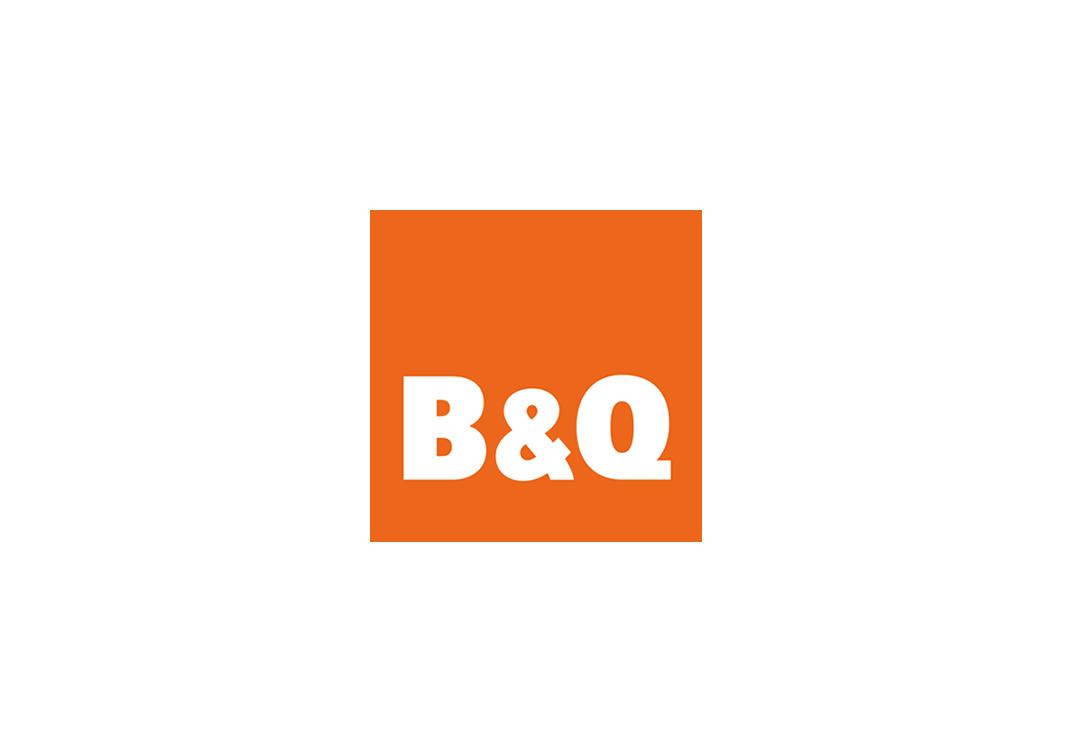 B&Q Retail Brand Identity Logo