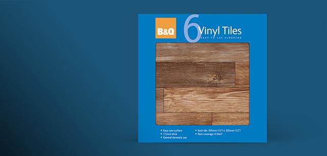 B&Q Product Range Packaging Design by Laban Brown Design Essex London