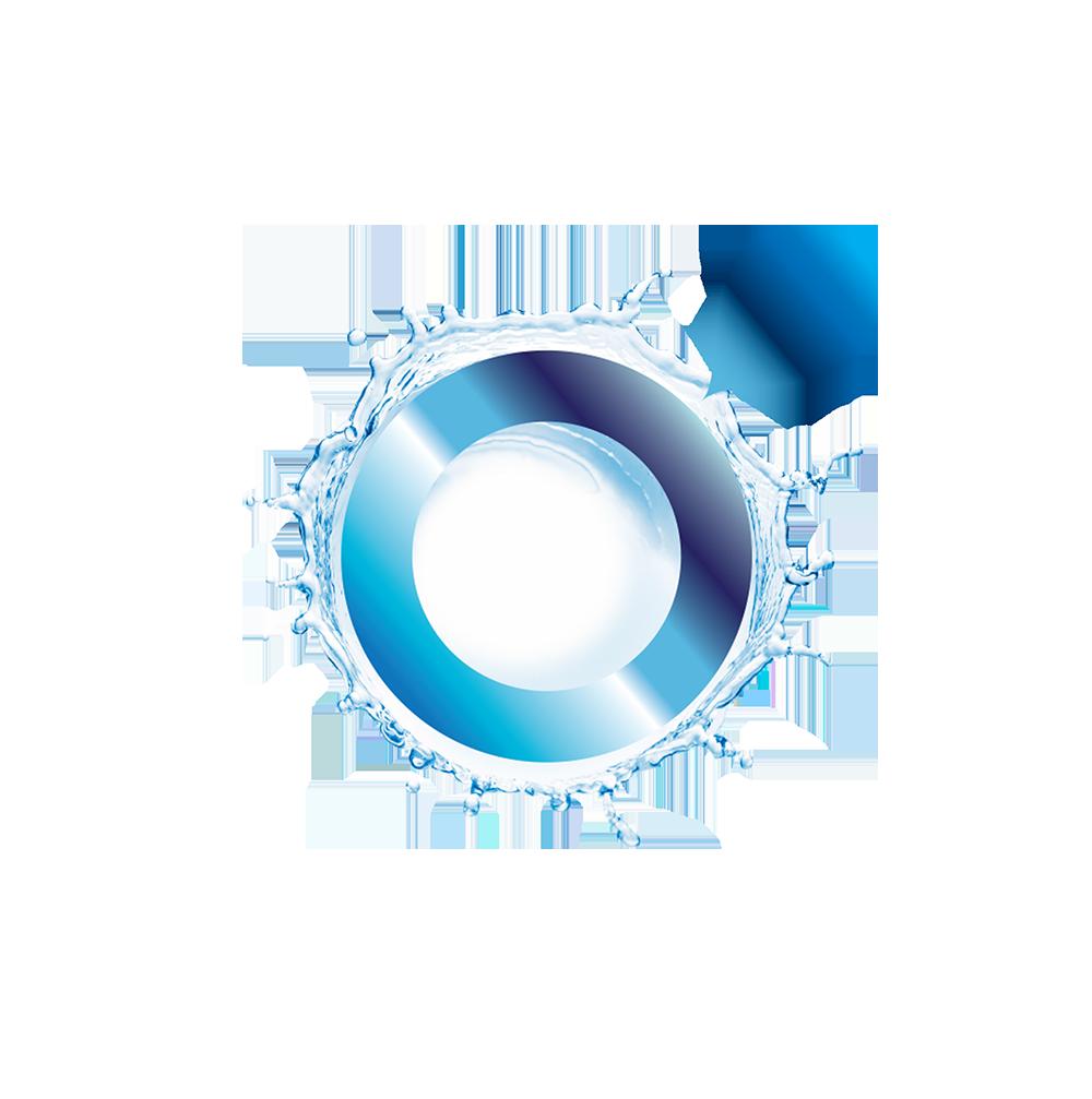O'Nano Toothbrushes Splash Logo Design