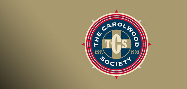 Carolwood Pacific Railroad, The Carolwood Society Brand Identity Design, Marketing and Website Design by Laban Brown Design Essex London