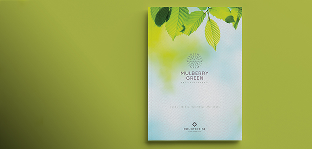 New Home Development Brand Identity and Marketing Design by Laban Brown Design Essex London for Countryside Properties