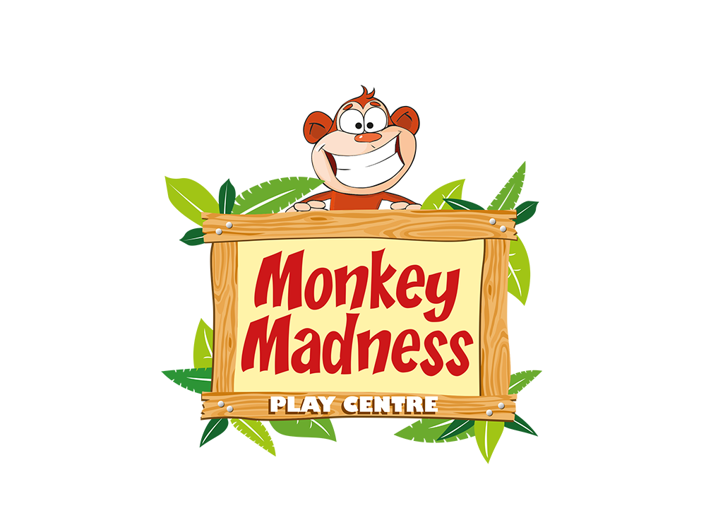 Monkey Madness Children's Indoor Play Centre Brand Identity and Marketing by Laban Brown Design Essex, London