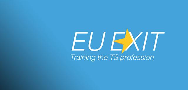 EU Exit Brand Identity Design for CTSI by Laban Brown Design Essex London