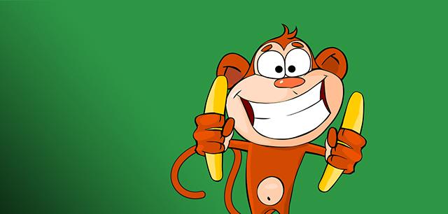 Monkey Madness Brand Identity, Logo, Website Design and Marketing Design by Laban Brown Design Essex London