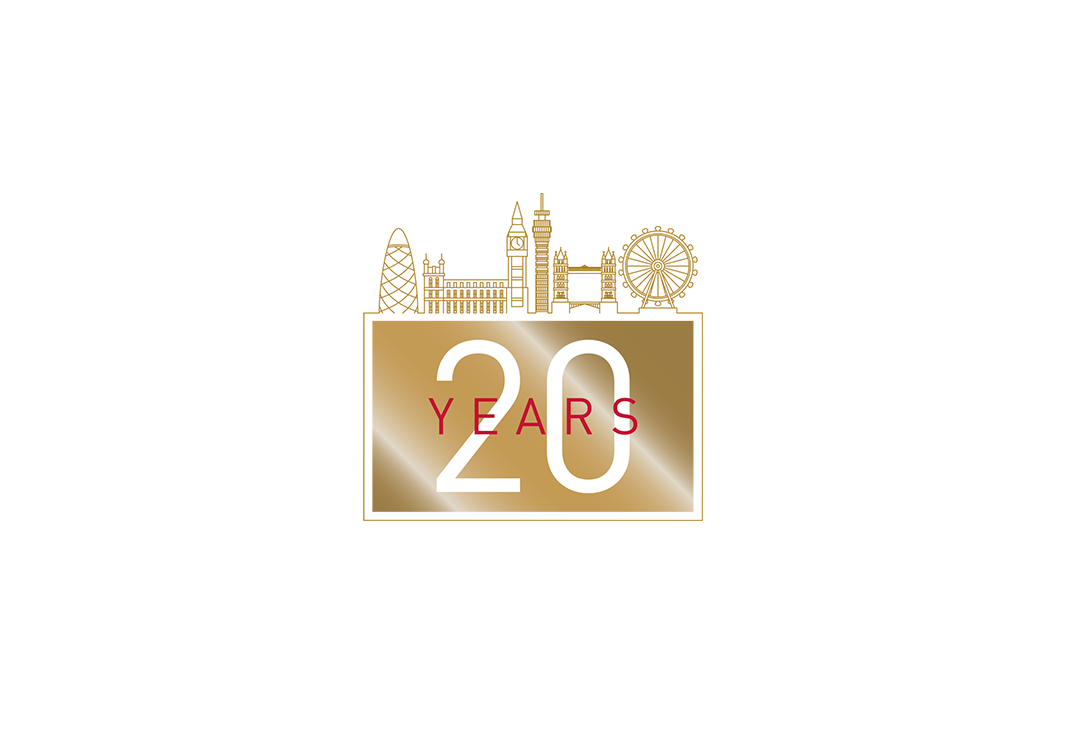 Telford Homes celebrating 20 years Icon Design by Laban Brown Design