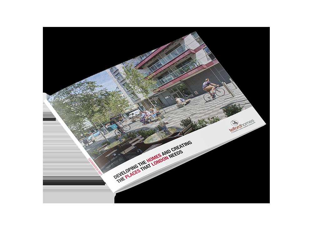 Telford Homes London Corporate Brochure Design by Laban Brown Design Essex, London