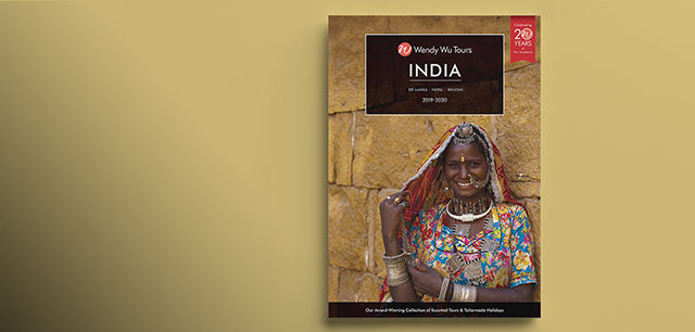 Wendy Wu Tours Travel Brochure Range Design for India, China, Japan and Asia by Laban Brown Design Essex London